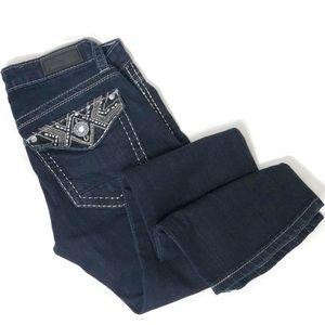 Women's DAYTRIP LEO Bootcut Dark Wash Jeans
